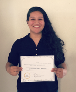 Shahram Salemy Scholarship Winner Esmeralda 2019